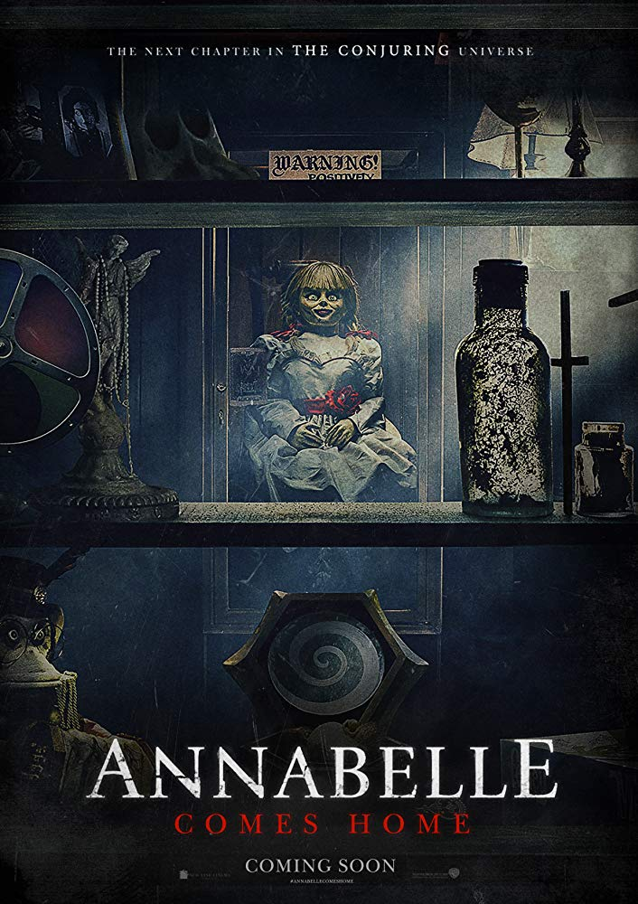 Annabelle-Comes-Home Scary Stories To Tell In The Dark (2019)