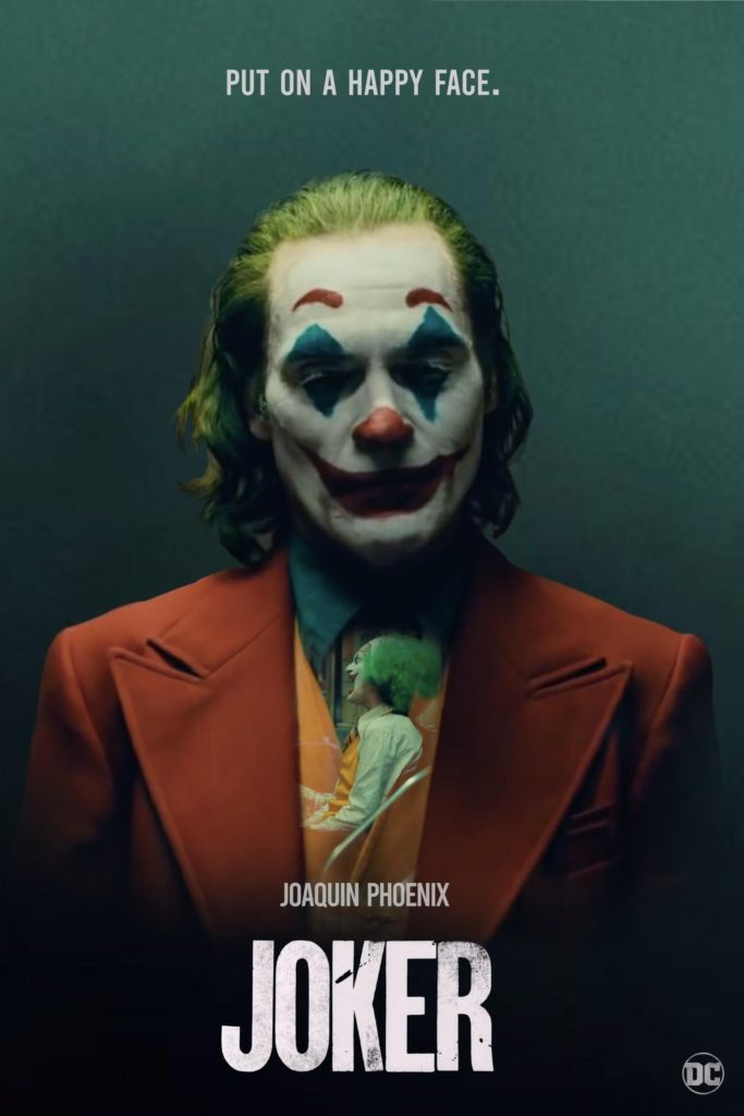 Joker (2019)  In Gotham City, mentally-troubled comedian Arthur Fleck embarks on a downward-spiral of social revolution and bloody crime.