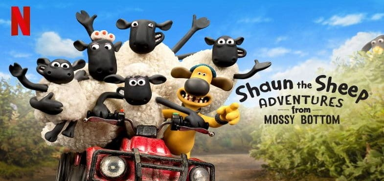 Shaun The Sheep - Adventures From Mossy Bottom