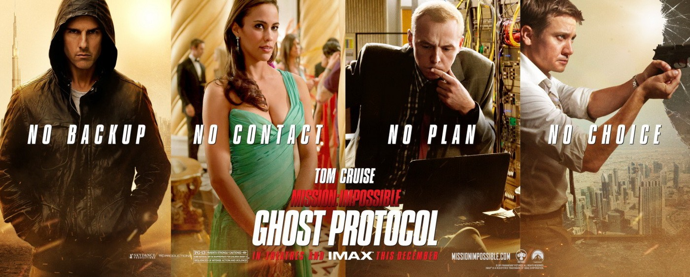 Mission: Impossible - Ghost Protocol (2011)